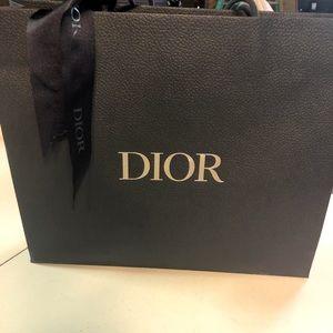 DIOR shopping/gift bag